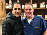 Dr. Davoud with Dr. Judson Wall Training in 2018