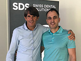 2019 training on Biological Dentistry and Zirconia implants Dr Davoud and Dr. Ulrich Volz