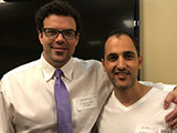 Dr. Davoud and Dr. Richard Miron DDS, MSc, PHD, Author PRF