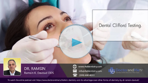 Different types of dental examinations done by Dr. Ramsin